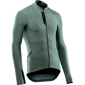 Northwave Fahrenheit Bike Jersey Longsleeve Men green